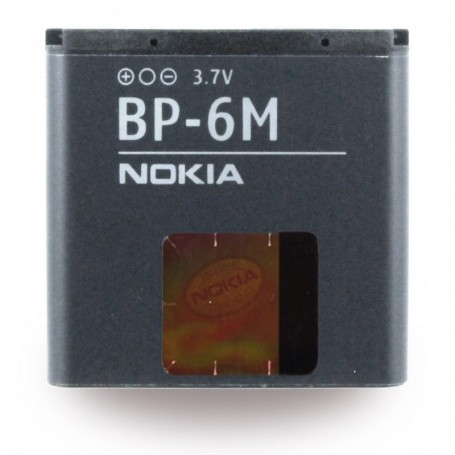 Nokia, BP-6M, Li-Polymer Battery, 3250, 1070mAh, 278818