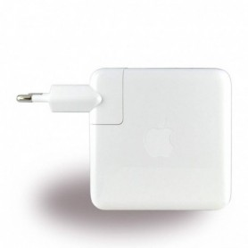 Carregador Apple MNF72Z / A 61W USB Tipo C 13 polegadas MacBook Pro, Branco, Original, MNF72Z/A