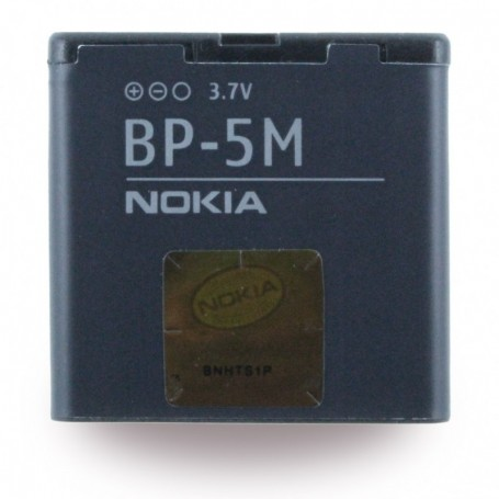 Nokia, BP-5M, Li-Polymer Battery, 5610 XpressMusic, 900mAh, 276524