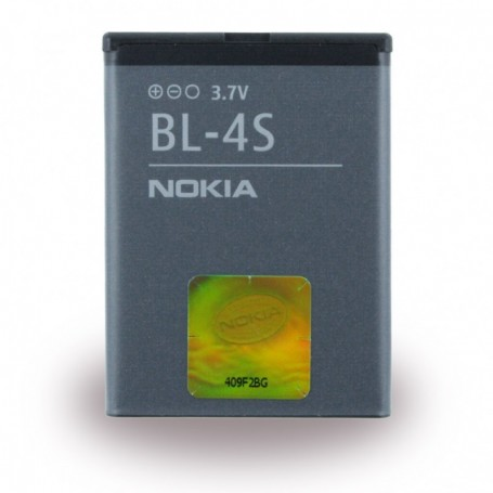 Nokia BL-4S Lithium Polymer Battery 2680 Slide 860mAh, 02704L1