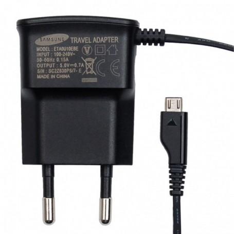 Samsung ETA0U10EBE Travel Charger MicroUSB 700mA Black, ETAOU10EBE