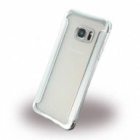 UreParts Shockproof Anti-slip Silicone Cover / Phone Skin Samsung G935F Galaxy S7 Edge Silver, 160310