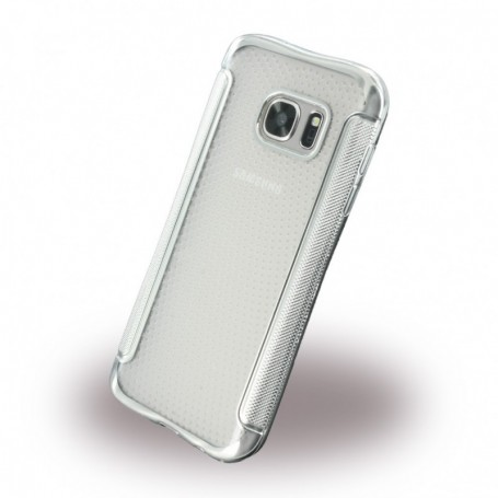 UreParts Shockproof Anti-slip Silicone Cover / Phone Skin Samsung G930F Galaxy S7 Silver, 160311