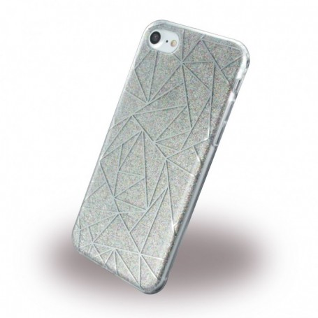 UreParts, Tribal Case, Silicone Cover / Phone Skin, Apple iPhone 7, 8, grey, 160422