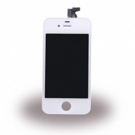 Apple iPhone 4S, Spare Part, LCD Display / Touch Screen, White, CY114055