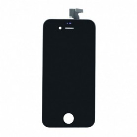 Apple iPhone 4S, Spare Part, LCD Display / Touch Screen, Black, CY114056