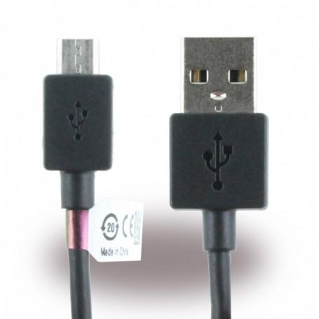 Sony, EC801 / EC803, MicroUSB Data Cable, 1m Black, 1264-0702.1