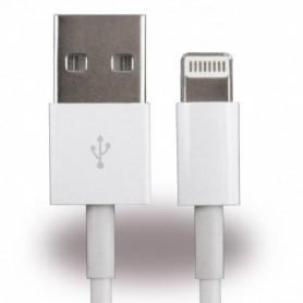 Cabo de Dados Cyoo Lightning 100cm Apple iPhone 7, 7 Plus, X, 8, 8 Plus, Branco, CY114178