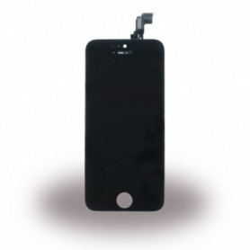 Apple iPhone 5C, Spare Part, LCD Display / Touch Screen, Black, CY114379