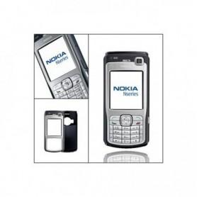Capa Nokia N70 Prata / Preto