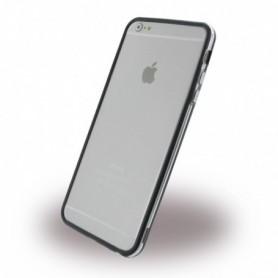 TPU Bumper / Phone Cover, Apple iPhone 6 Plus, 6s Plus, Transparent Black, CY115112